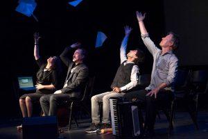 das Ulysses-Syndrom mit dem Theater Aber Andersrum und mit Alvaro Solar, Cristina Callao und Ayman Alissa